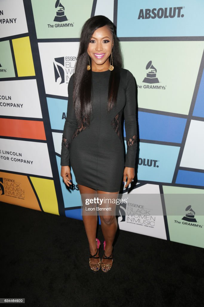 Actress Gabrielle Dennis attends 2017 Essence Black Women in Music at NeueHouse Hollywood on February 9, 2017 in Los Angeles, California.