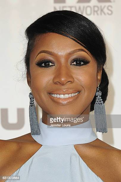 Actress Gabrielle Dennis attends FOX and FX's 2017 Golden Globe Awards after party at The Beverly Hilton Hotel on January 8 2017 in Beverly Hills...