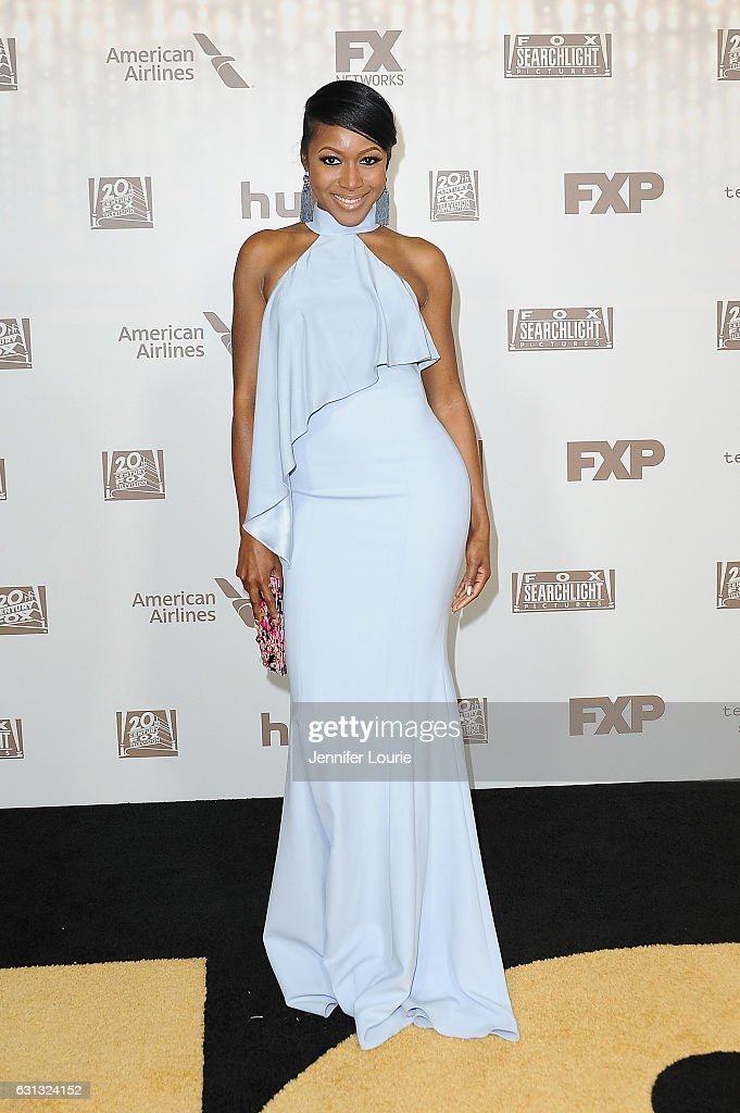Actress Gabrielle Dennis attends FOX and FX's 2017 Golden Globe Awards after party at The Beverly Hilton Hotel on January 8, 2017 in Beverly Hills, California.