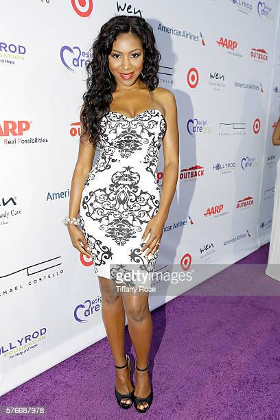 Actress Gabrielle Dennis attends HollyRod Foundation's DesignCare Gala on July 16 2016 in Pacific Palisades California