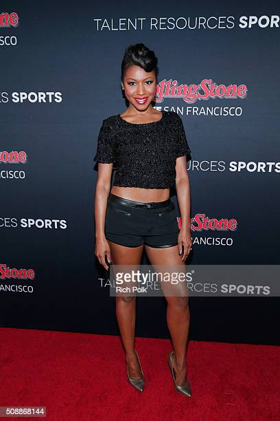 Actress Gabrielle Dennis attends Rolling Stone Live SF with Talent Resources on February 7 2016 in San Francisco California