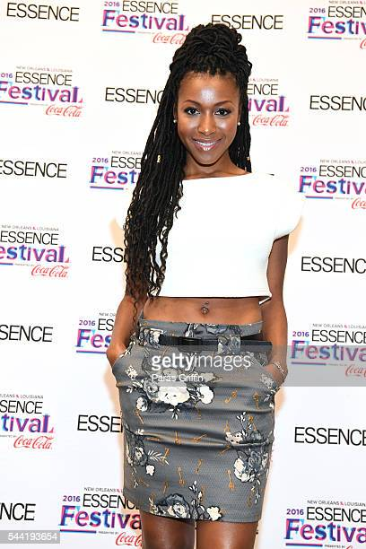 Actress Gabrielle Dennis attends the 2016 ESSENCE Festival Presented By CocaCola at Ernest N Morial Convention Center on July 1 2016 in New Orleans...