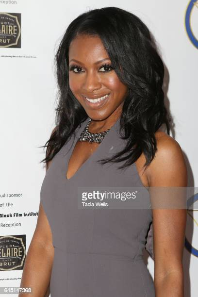 Actress Gabrielle Dennis attends the 2017 PreOscar Gala for the American Black Film aInstitute at Preston's on February 24 2017 in Hollywood...