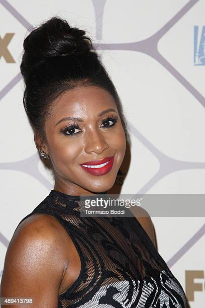 Actress Gabrielle Dennis attends the 67th Primetime Emmy Awards Fox after party on September 20 2015 in Los Angeles California
