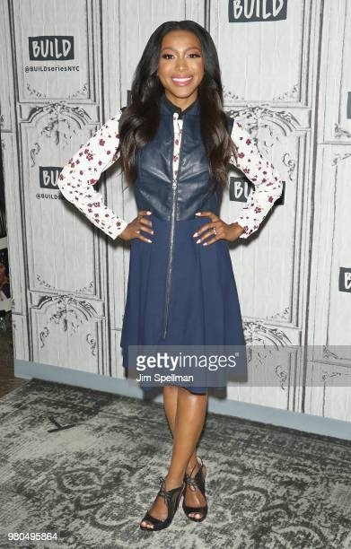 Actress Gabrielle Dennis attends the Build Series to discuss Marvel's 'Luke Cage' at Build Studio on June 21 2018 in New York City