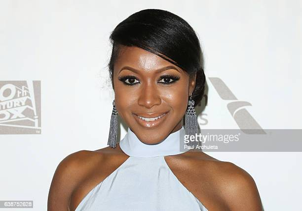 Actress Gabrielle Dennis attends the FOX and FX's 2017 Golden Globe Awards After Party at The Beverly Hilton Hotel on January 8 2017 in Beverly Hills...