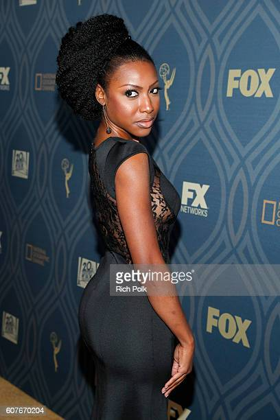Actress Gabrielle Dennis attends the FOX Broadcasting Company FX National Geographic And Twentieth Century Fox Television's 68th Primetime Emmy...