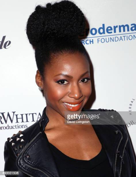 Actress Gabrielle Dennis attends the Winter Comedy Ball at The Laugh Factory on December 14 2017 in West Hollywood California