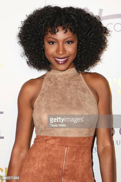 Actress Gabrielle Dennis attends the Women's Choice Award Show at Avalon Hollywood on May 17 2017 in Los Angeles California