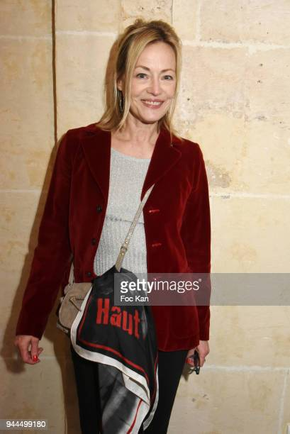 Actress Gabrielle Lazure attends the Bel RP 10th Anniversary at Atelier Sevigne on April 10 2018 in Paris France
