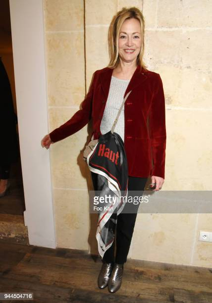 Actress Gabrielle Lazure attends the 'Bel RP' 10th Anniversary at Atelier Sevigne on April 10 2018 in Paris France