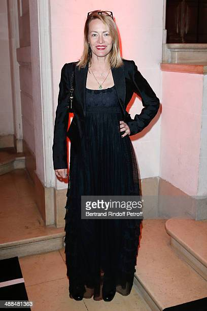 Actress Gabrielle Lazure attends the Cocktail for 50 years of beauty and discovery of new fragrance Black Opium of Yves Saint Laurent on May 6 2014...