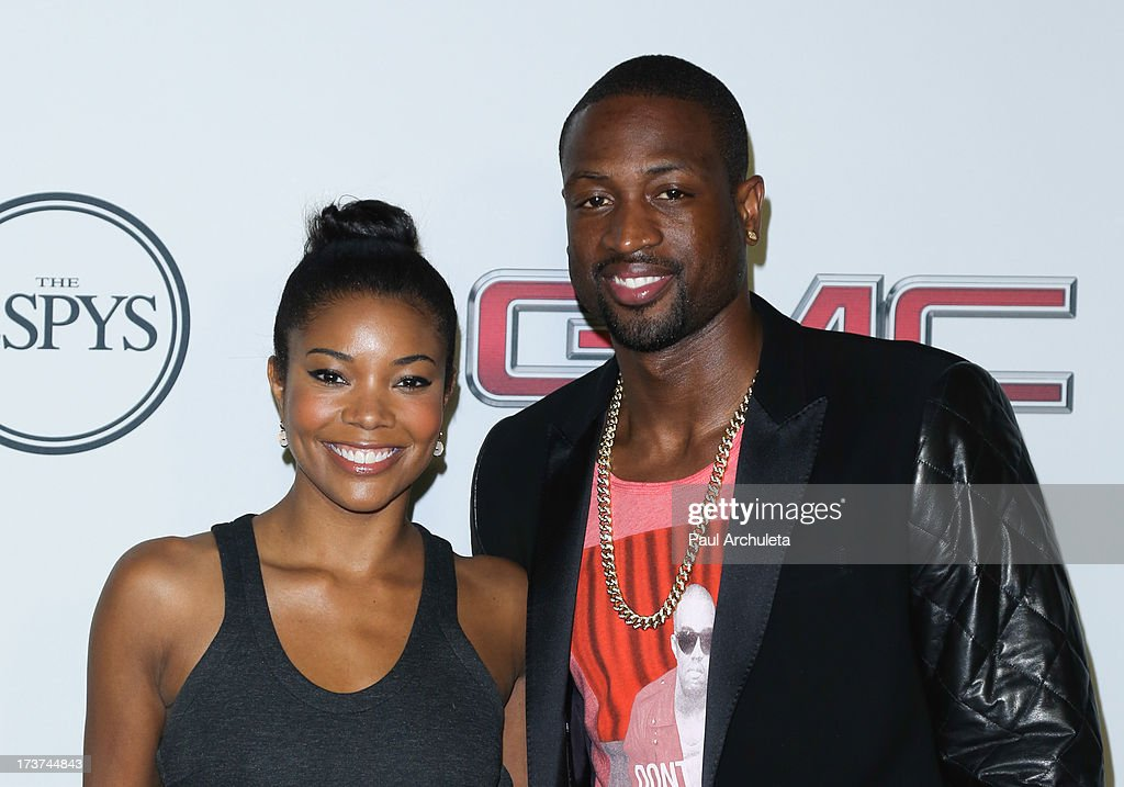 Actress Gabrielle Union (L) and NBA Player Dwyane Wade attend the ESPN's 5th Annual Body At ESPYS at Lure on July 16, 2013 in Hollywood, California.