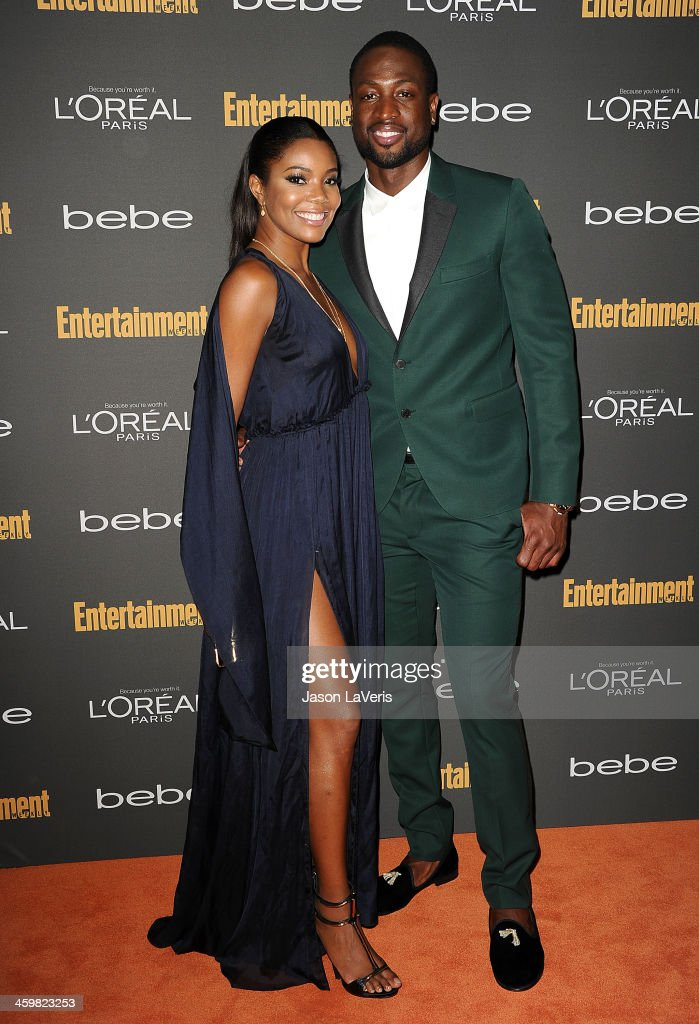 Actress Gabrielle Union and NBA player Dwyane Wade attend the Entertainment Weekly pre-Emmy party at Fig & Olive Melrose Place on September 20, 2013 in West Hollywood, California.