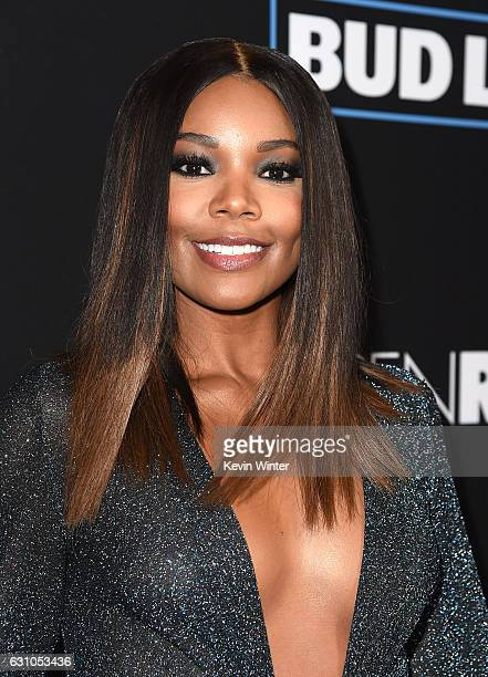 Actress Gabrielle Union arrives at the premiere of Open Road Films' Sleepless at the Regal LA Live Stadium 14 Theatre on January 5 2017 in Los...