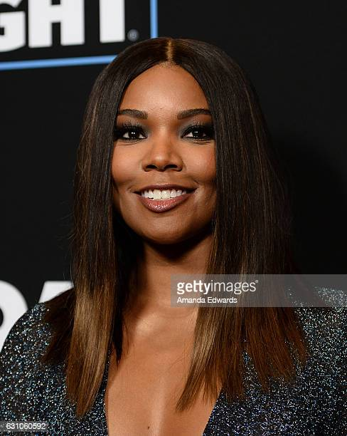 Actress Gabrielle Union arrives at the premiere of Open Road Films' Sleepless at the Regal LA Live Stadium 14 on January 5 2017 in Los Angeles...