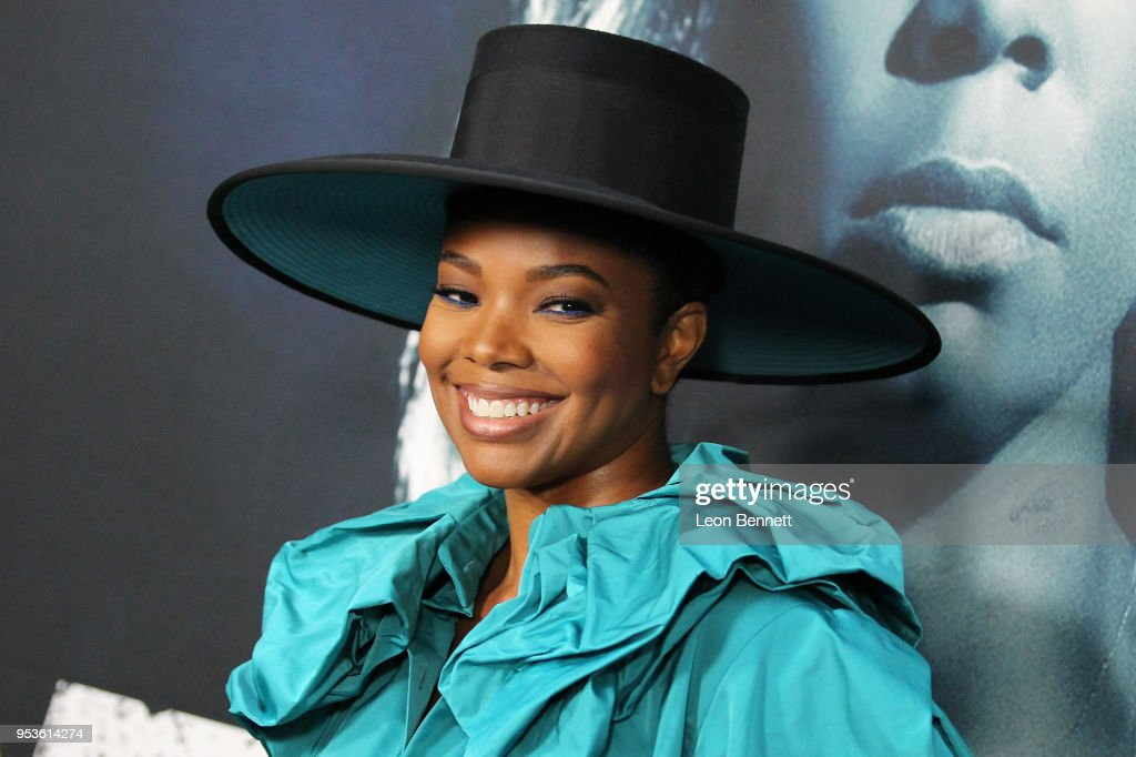 Actress Gabrielle Union attend Universal Pictures' Special Screening Of 'Breaking In' - Arrivals at ArcLight Cinemas on May 1, 2018 in Hollywood, California.