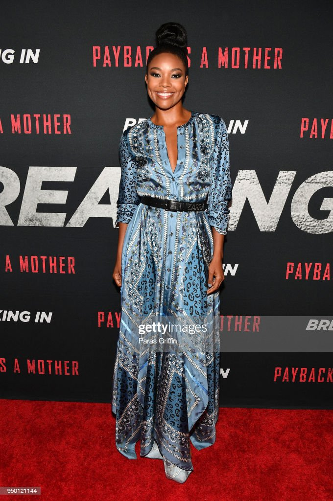 BREAKING IN Star and Producer Gabrielle Union, & Producer Will Packer Attend Private Screening at Regal Atlantic Station in Atlanta