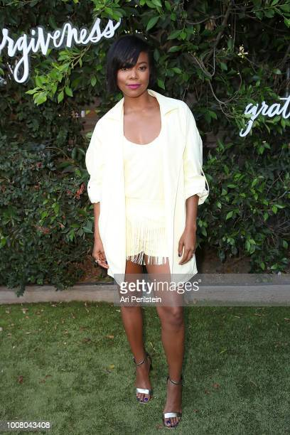 Actress Gabrielle Union attends Hallmark's When You Care Enough to Put It Into Words Launch Event on July 30 2018 in Los Angeles California