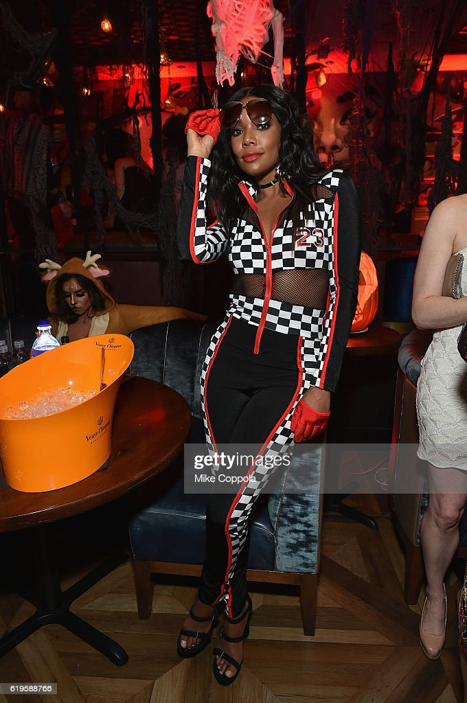 Actress Gabrielle Union attends Heidi Klum's 17th Annual Halloween Party sponsored by SVEDKA Vodka at Vandal on October 31, 2016 in New York City.