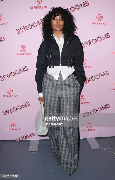 Actress Gabrielle Union attends Refinery29 29Rooms Los Angeles Turn It Into Art at ROW DTLA on December 6 2017 in Los Angeles California