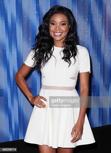 Actress Gabrielle Union attends Screen Gems' Think Like a Man Too photo call at The Beverly Hilton Hotel on June 7 2014 in Beverly Hills California