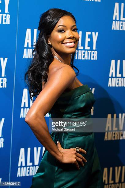Actress Gabrielle Union attends the 2013 Alvin Ailey American Dance Theater's opening night benefit gala at New York City Center on December 4 2013...