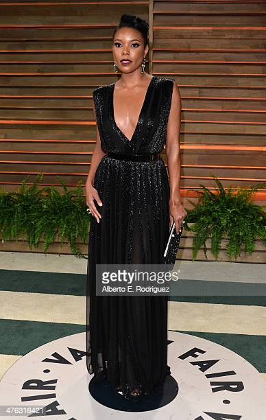 Actress Gabrielle Union attends the 2014 Vanity Fair Oscar Party hosted by Graydon Carter on March 2 2014 in West Hollywood California