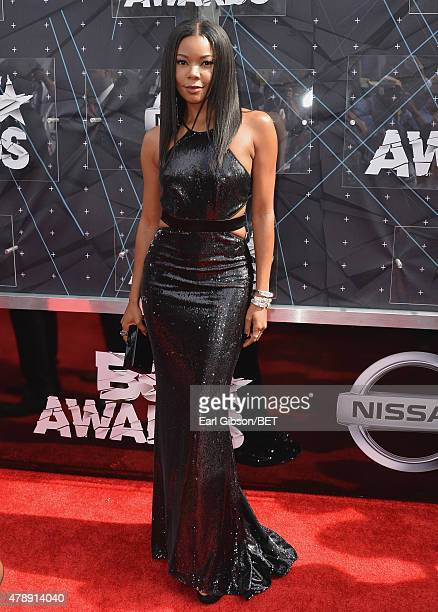 Actress Gabrielle Union attends the 2015 BET Awards at the Microsoft Theater on June 28 2015 in Los Angeles California