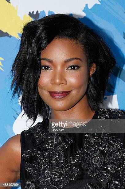 Actress Gabrielle Union attends the 2015 Essence Street Style Block Party on September 13 2015 in New York City