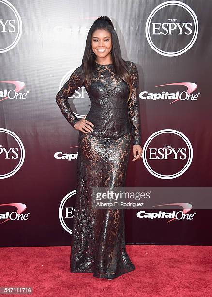 Actress Gabrielle Union attends the 2016 ESPYS at Microsoft Theater on July 13 2016 in Los Angeles California