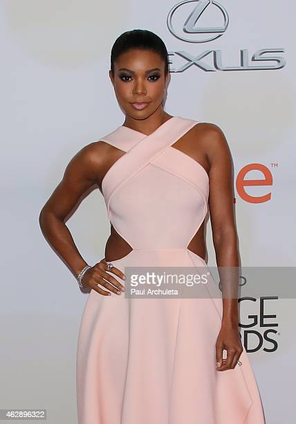 Actress Gabrielle Union attends the 46th Annual NAACP Image Awards on February 6 2015 in Pasadena California