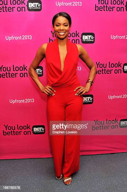 Actress Gabrielle Union attends the BET Networks 2013 New York Upfront on April 16 2013 in New York City