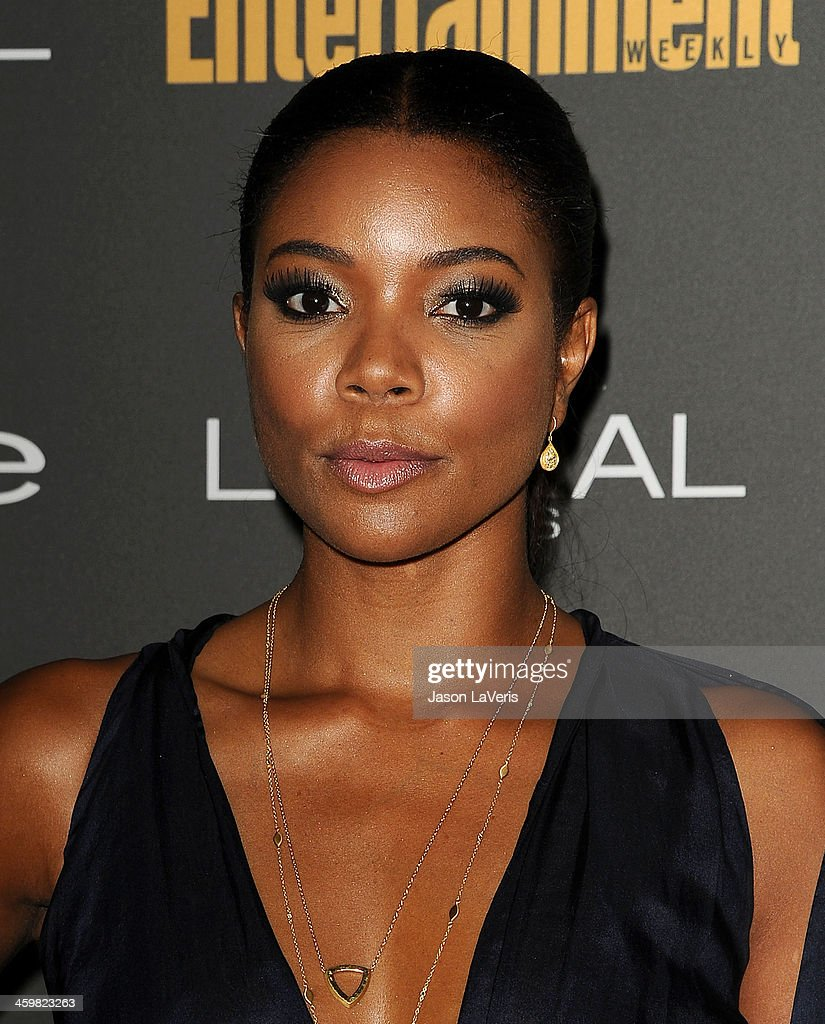 Actress Gabrielle Union attends the Entertainment Weekly pre-Emmy party at Fig & Olive Melrose Place on September 20, 2013 in West Hollywood, California.