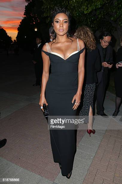 Actress Gabrielle Union attends the Los Angeles premiere of HBO Films' 'Confirmation' at Paramount Theater on the Paramount Studios lot on March 31...