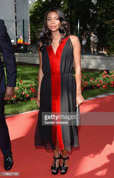 Actress Gabrielle Union attends the Miu Miu Women's Tale Premiere during the 70th Venice International Film Festival at Sala Darsena on August 29...