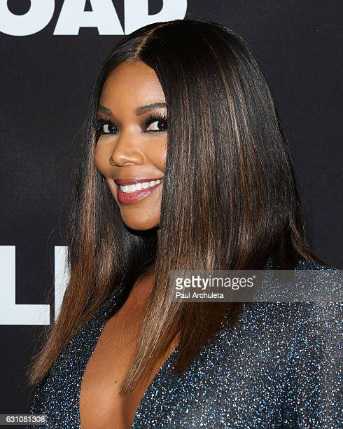 Actress Gabrielle Union attends the premiere of Sleepless at the Regal LA Live Stadium 14 on January 5 2017 in Los Angeles California