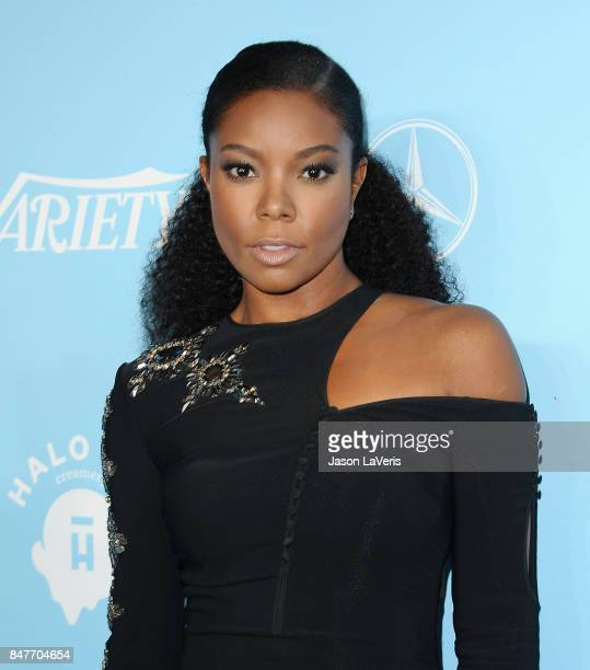 Actress Gabrielle Union attends Variety and Women In Film's 2017 preEmmy celebration at Gracias Madre on September 15 2017 in West Hollywood...