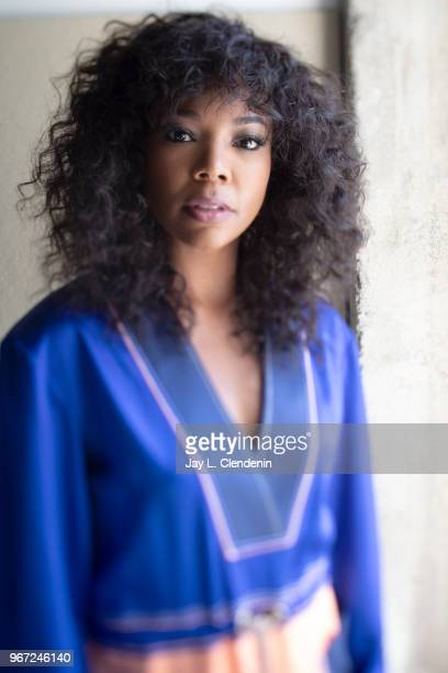 Actress Gabrielle Union is photographed for Los Angeles Times on April 29 2018 in Los Angeles California PUBLISHED IMAGE CREDIT MUST READ Jay L...