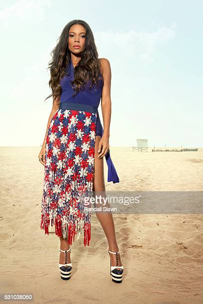 Actress Gabrielle Union is photographed for Ocean Drive Magazine on March 2 2016 in Hollywood California