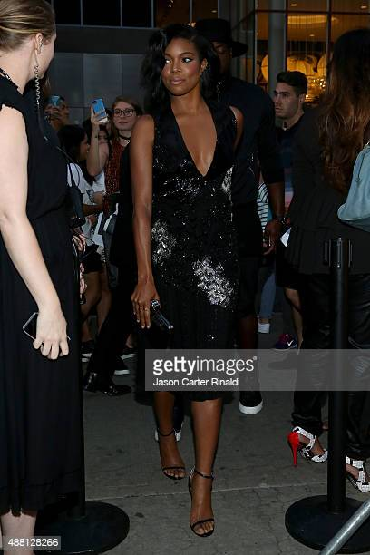 Actress Gabrielle Union seen at Skylight at Moynihan Station during Spring 2016 New York Fashion Week The Shows on September 13 2015 in New York City