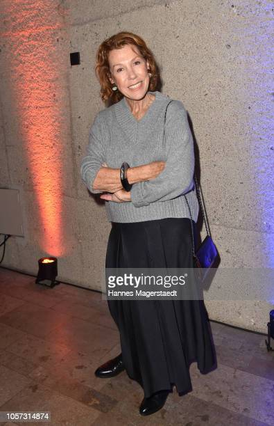 Actress Gaby Dohm during the 8th German Director Award Metropolis at HFF Munich at HFF Muenchen on November 4 2018 in Munich Germany