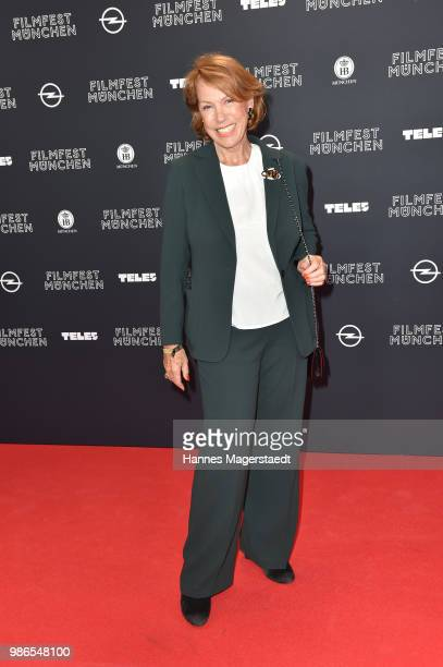 Actress Gaby Dohm during the opening night of the Munich Film Festival 2018 at Mathaeser Filmpalast on June 28 2018 in Munich Germany