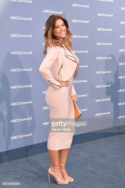 Actress Gaby Espino attends the NBCUniversal 2016 Upfront Presentation on May 16 2016 in New York New York
