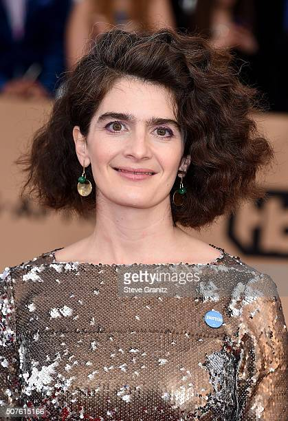 Actress Gaby Hoffman attends the 22nd Annual Screen Actors Guild Awards at The Shrine Auditorium on January 30 2016 in Los Angeles California