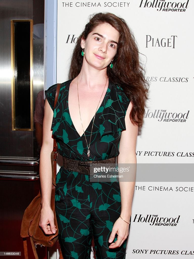 Actress Gaby Hoffman attends The Cinema Society with the Hollywood Reporter & Piaget and Disaronno screening of 'To Rome With Love' at The Paris Theatre on June 20, 2012 in New York City.