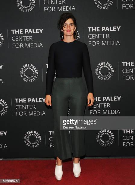 Actress Gaby Hoffman attends The Paley Center For Media Presents Transparent An Evening With The Pfeffermans at The Paley Center for Media on...