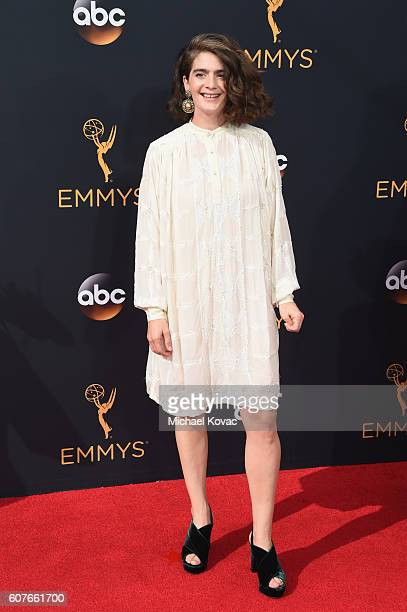 Actress Gaby Hoffmann attends 68th Annual Primetime Emmy Awards at Microsoft Theater on September 18 2016 in Los Angeles California