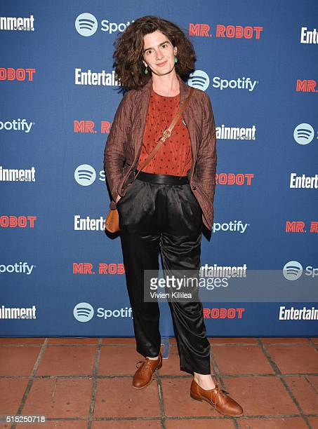 Actress Gaby Hoffmann attends a dinner hosted by Entertainment Weekly celebrating Mr Robot at the Spotify House in Austin TX during SXSW on March 12...