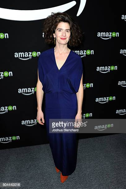 Actress Gaby Hoffmann attends Amazon Studios Golden Globe Awards Party at The Beverly Hilton Hotel on January 10 2016 in Beverly Hills California
